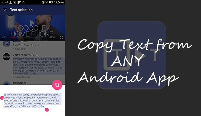 Universal Copy App: Best Way to Copy Text from Any Android App - Bit